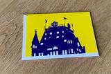 Witte Huis kaart met enveloppe