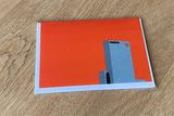 Delftse Poort kaart met enveloppe