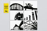 WUUDY Blijdorp Ansichtkaarten (Speciale Editie van 6 kaarten)_