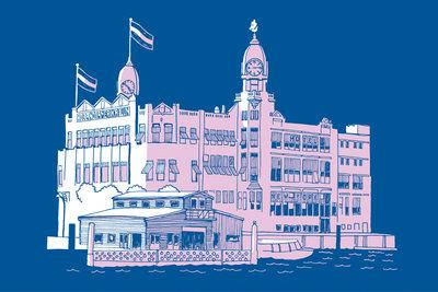 Hotel New York - Art Card by ikRotterdam