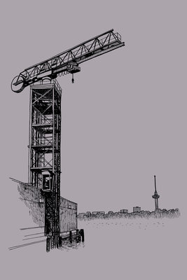 Port Crane - Art Card van ikRotterdam