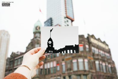 Hotel New York - Graphic Card by WUUDY