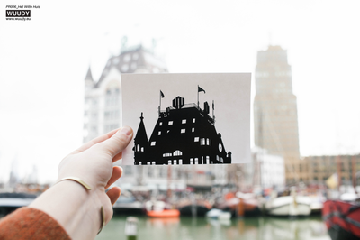 Het Witte Huis - Graphic Card by WUUDY