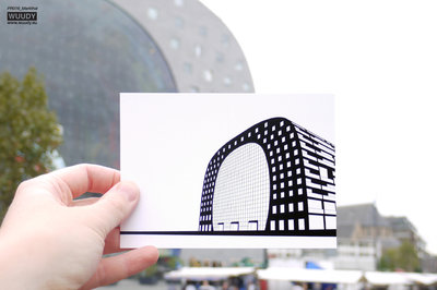 Markthal - Graphic Card by WUUDY