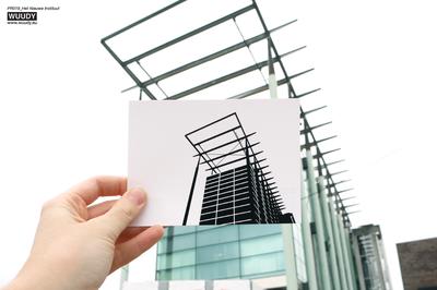 Het Nieuwe Instituut - Graphic Card by WUUDY