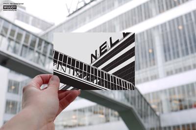 Van Nellefabriek - Grafische Kaart van WUUDY