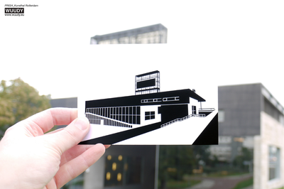 Kunsthal Rotterdam - Graphic Card by WUUDY