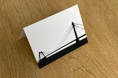 Willemsbrug - Folded Card by WUUDY