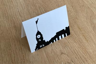 Hotel New York - Folded Card by WUUDY