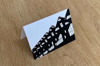 Kubuswoningen - Folded Card by WUUDY