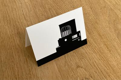 Maastunnel - Folded Card by WUUDY