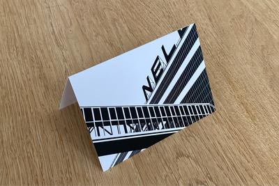 Van Nellefabriek - Folded Card by WUUDY