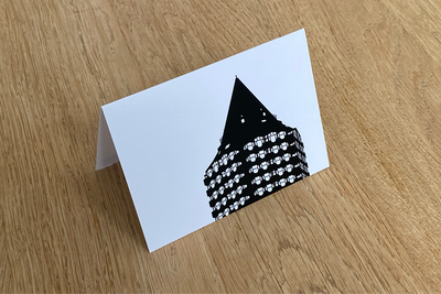 Blaaktoren - Folded Card by WUUDY