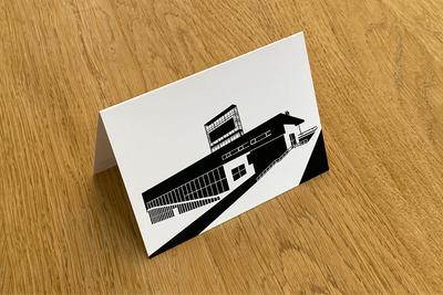Kunsthal Rotterdam - Folded Card by WUUDY