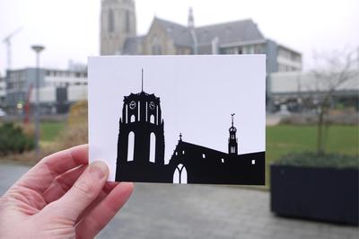 Laurenskerk - Graphic Card by WUUDY