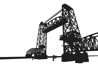 De Hef Bridge (2014), Wuudy (Art Print)