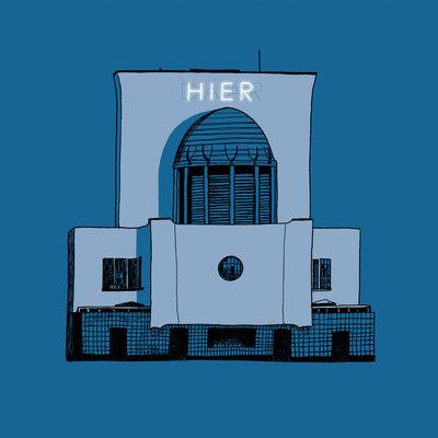 Ventilation building (2014), ikRotterdam (Art Print)