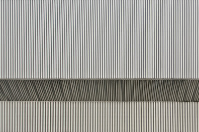 Corrugated Steel 2 (2014), Michel de la Vieter (Art Print)