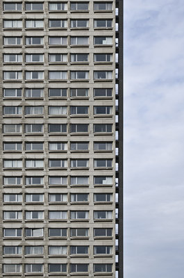 Apartment Building (2015), Michel de la Vieter (Art Print)