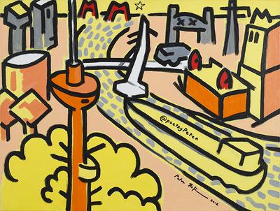 Rotterdam @poetryPeter (2012), Peter Hofland