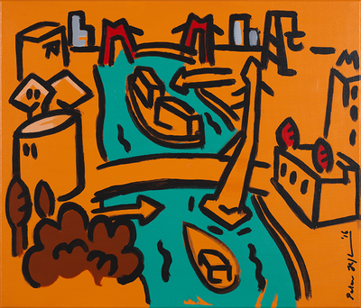 Rotterdam Summer (2016), Peter Hofland