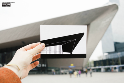 Centraal Station - Graphic Card by WUUDY