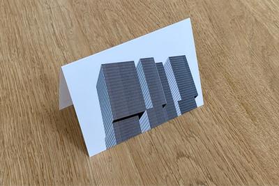 De Rotterdam - Dubbele Kaart van WUUDY