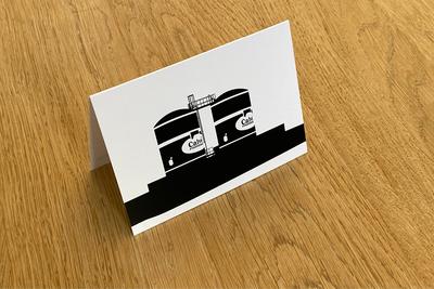 Calvé Pindakaaspotten - Folded Card by WUUDY
