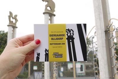 WUUDY Blijdorp Ansichtkaarten (Speciale Editie van 6 kaarten)