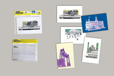 Art Card Set | ikRotterdam (5x Art Card)